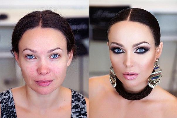 Как сделать арабский макияж