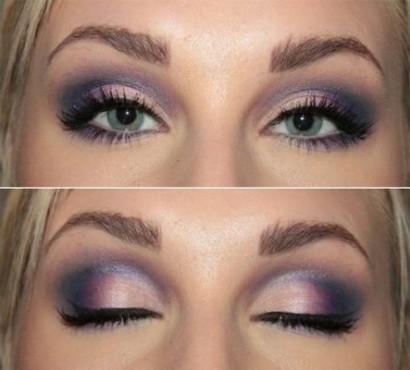 Арабский макияж для светлых глаз