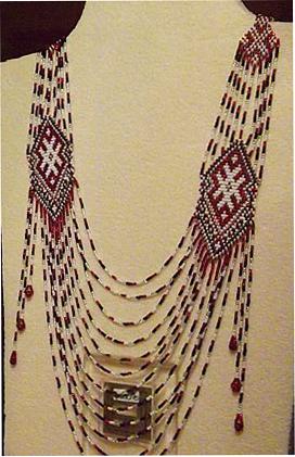 Авторские украшения из бисера
