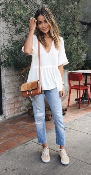 С чем носить брюки с высокой посадкой: стильные образы на все случаи
