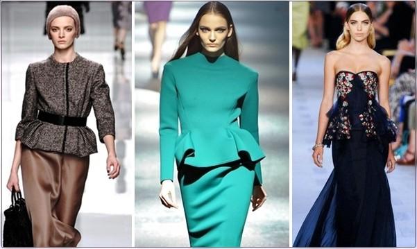 Элегантный стиль в одежде: баска