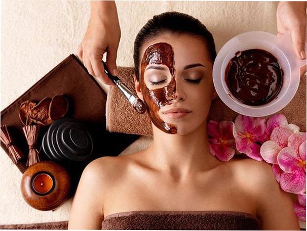 Как очистить кожу лица: скраб с шоколадом
