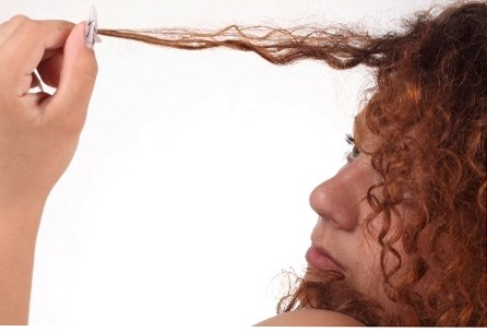 Как восстановить сожженные волосы