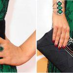 Какой сделать маникюр под зеленое платье