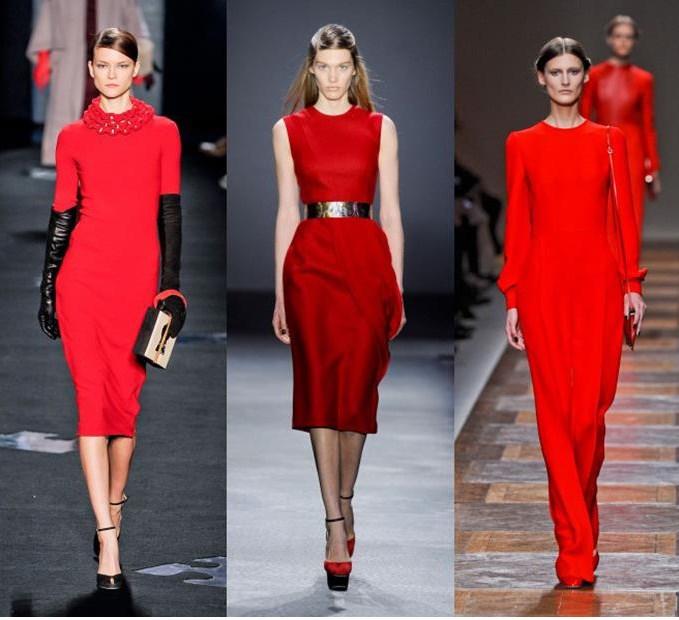 Красный цвет в одежде: равнение на красоту