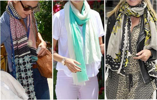 Легкий шарф: универсальный аксессуар