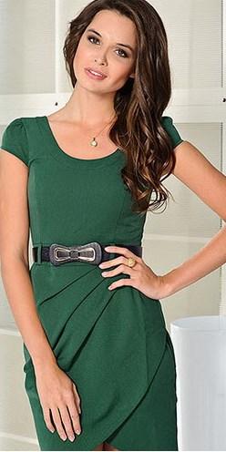 Зеленое платье и зеленые глаза