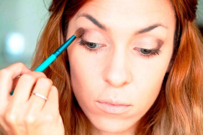 Дневной макияж в матовых тонах