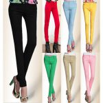 Модели женских брюк: стрейч