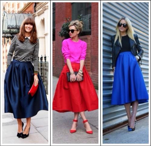 Всегда выглядеть привлекательно: модные женские юбки 2016