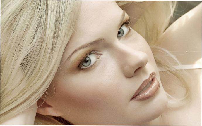 Макияж для светлокожих блондинок