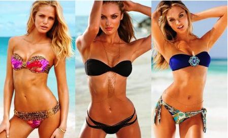 Модели модных купальников