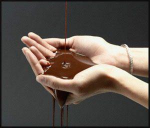 С порошком какао