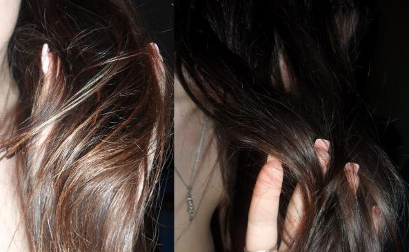 Как быстро освежить образ: цветная тушь для волос
