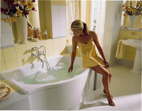 Уход за кожей тела: крахмальная ванна