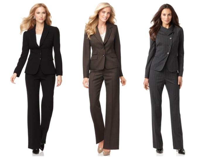 Деловые костюмы для женщин: практичность и красота