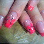 Идеи для праздничного маникюра: китайская роспись на ногтях