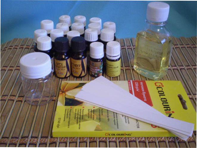 Как сделать духи из эфирных масел