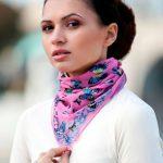 Как женские шейные платки помогут изменить образ
