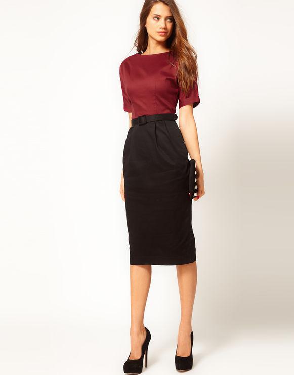 Подбор юбки и блузки