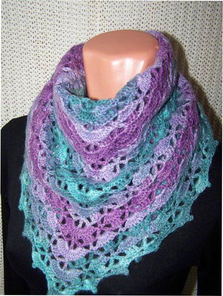Модные шарфы осень 2015