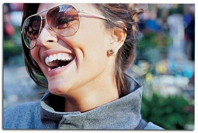 Морщинки образуются из-за смеха