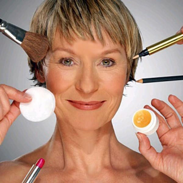"""Правила макияжа """"за сорок"""""""