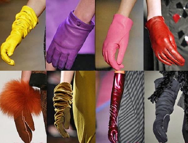 Выбираем перчатки осенние женские