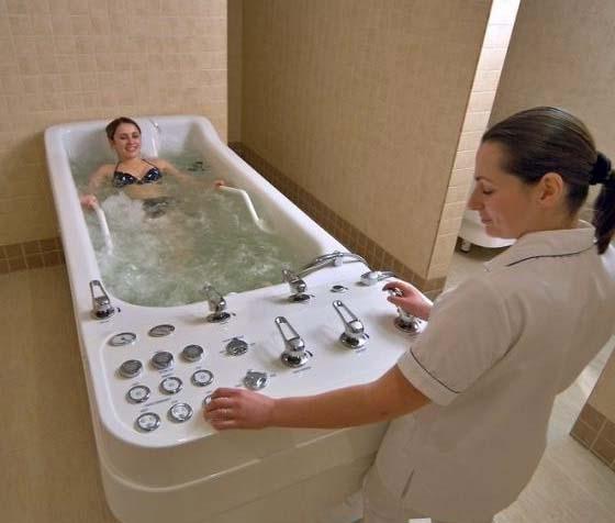 Виды гидротерапии
