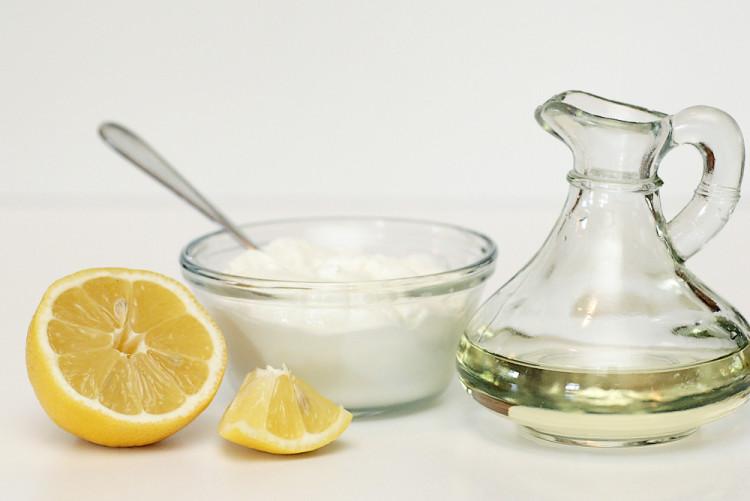 Сахарно-лимонный скраб