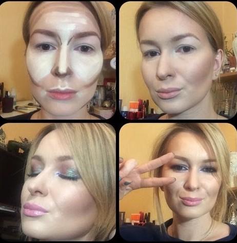 Как изменить форму лица