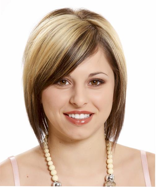 Коррекция причёской