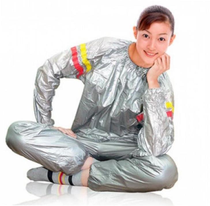 Похудение с костюмом-сауной