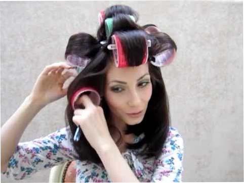 Как накрутить волосы на «липучки»