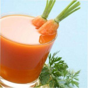 С морковным соком