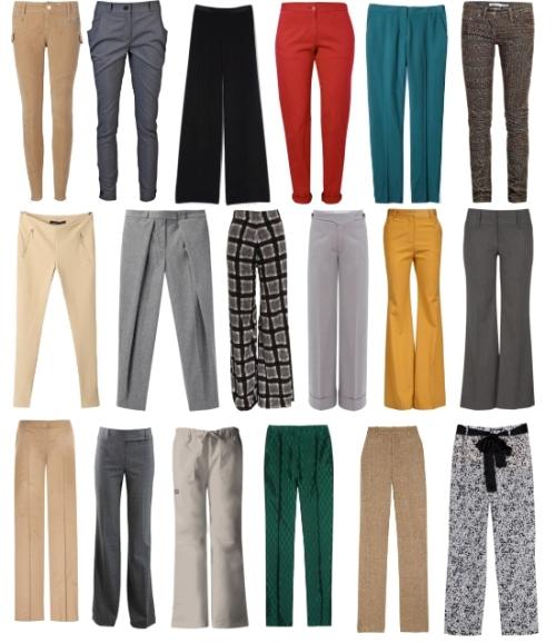 Какие модные женские брюки носить осенью 2015