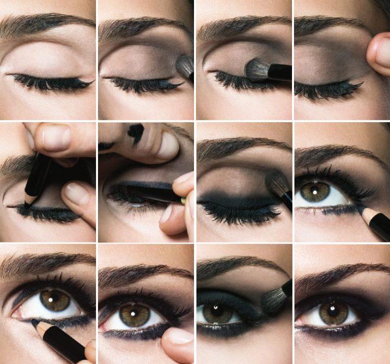 Как сделать макияж смоки айс пошагово