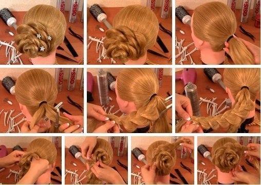 Как сделать красивые плетения из волос