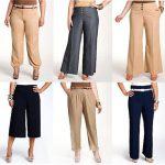 Летние брюки для женщин: красота и удобство
