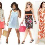 Летний гардероб для полных дам