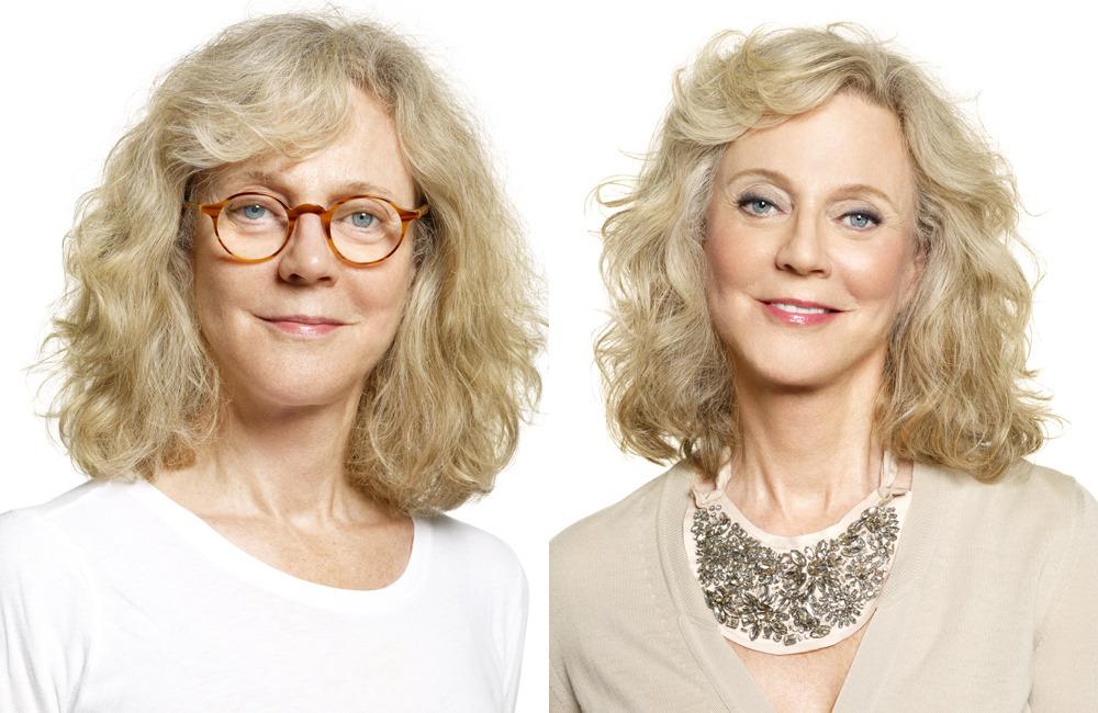 Как выглядеть моложе в 40 лет с помощью прически