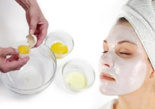 Антивозрастная белковая маска