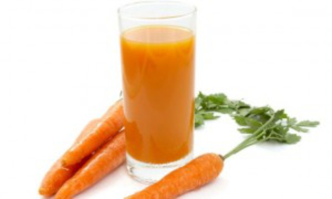 Морковно-крахмальная маска (классический рецепт)