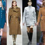 Модные женские пальто осень 2018
