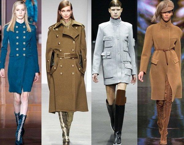 Модные женские пальто осень 2015