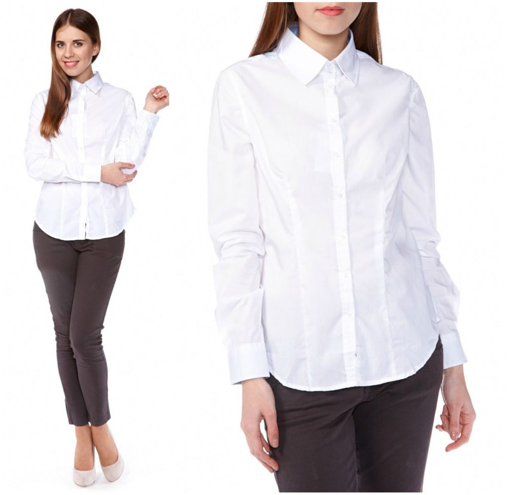 Белая рубашка: идеальный вариант