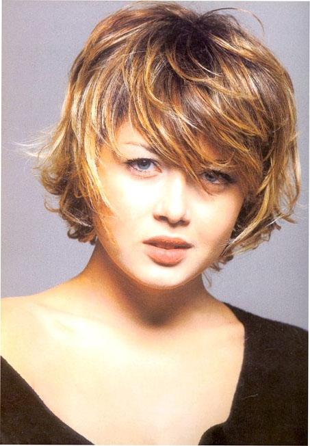 Причёски для полных дам