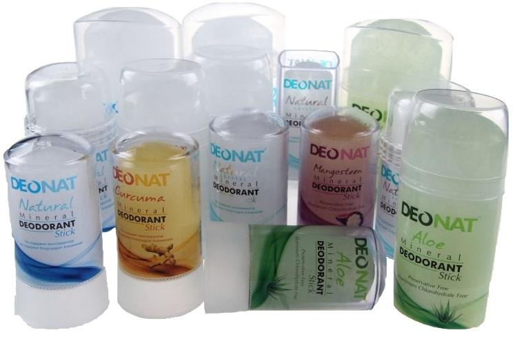 Формы выпуска дезодорантов