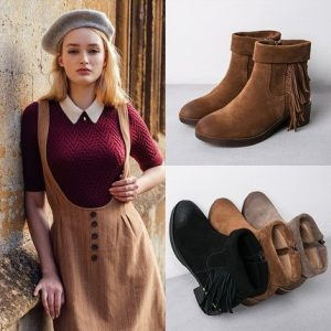 Цвет и качество обуви