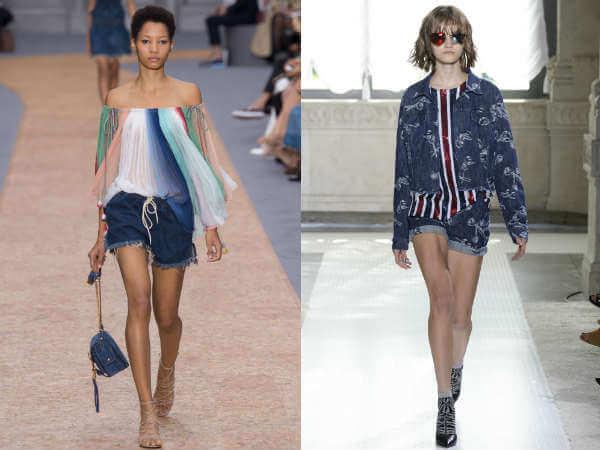 Джинсовые шорты лето – 2017